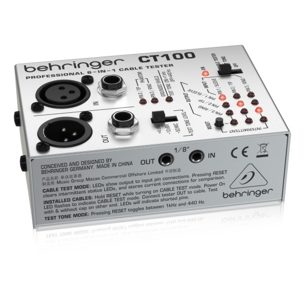 CT100 : Professional 6-in-1 Cable Tester
