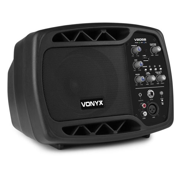 Vonyx V205B Personal Monitor System BT USB for Mic Guitar
