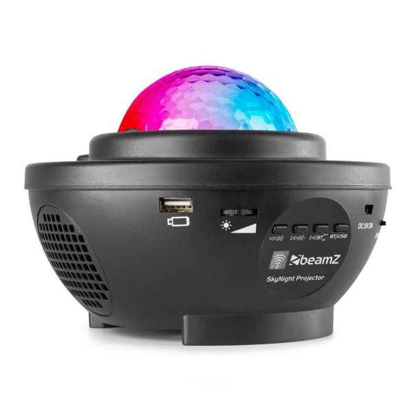 Beamz SkyNight Galaxy Projector BT IRC 2x 3W RGBW LEDs