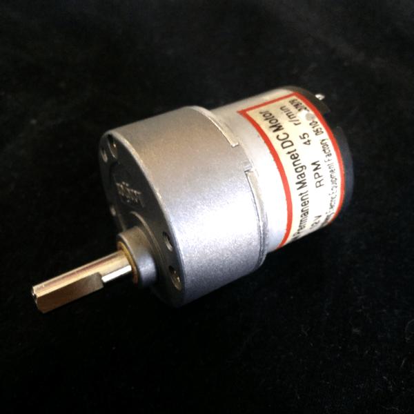 12VDC    45RPM    Motor