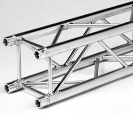 Quad Truss 290MM  F34 Type 2.5M Long With 4 Conical Joiners