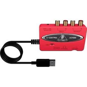 Behringer UCA222 Audio To USB Interface