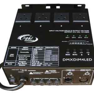 Light Emotion DMXDIM4LED 4 chan DMX dimmer / Switch Pack / Chase
