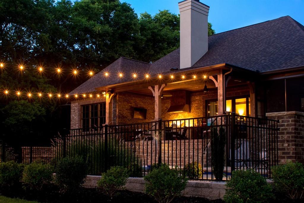 31 Beautiful Outdoor Covered Patio Lights Pixelmaricom