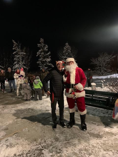 Santa in Wabamun 2019