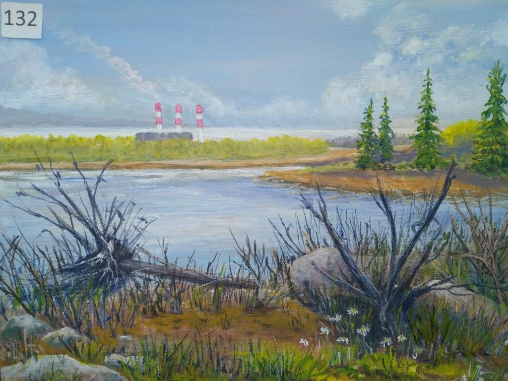 Silent Auction 2019 landscape painting