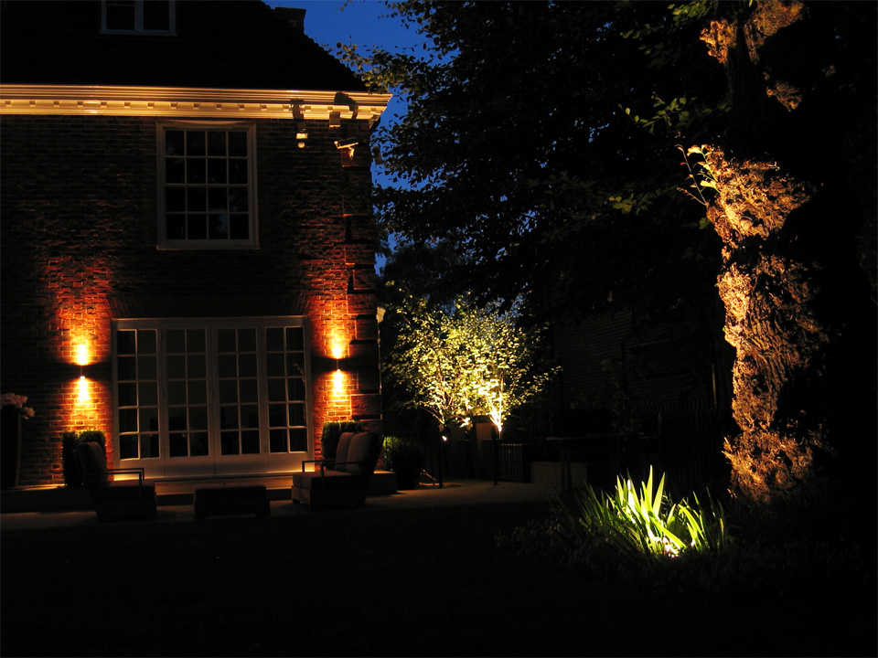 Private garden, London