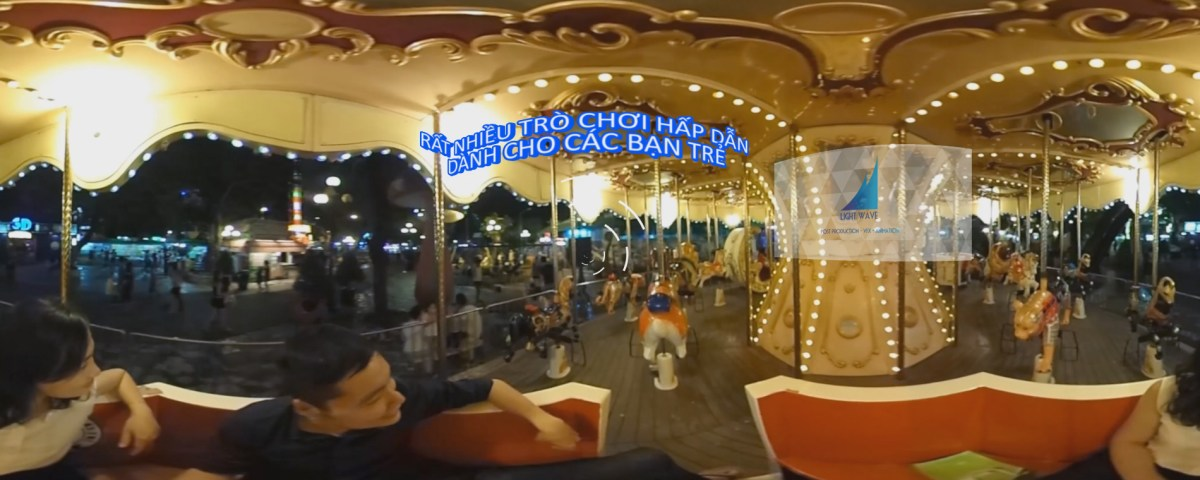 Thỏ Trắng park advertising virtual reality 360 degree video