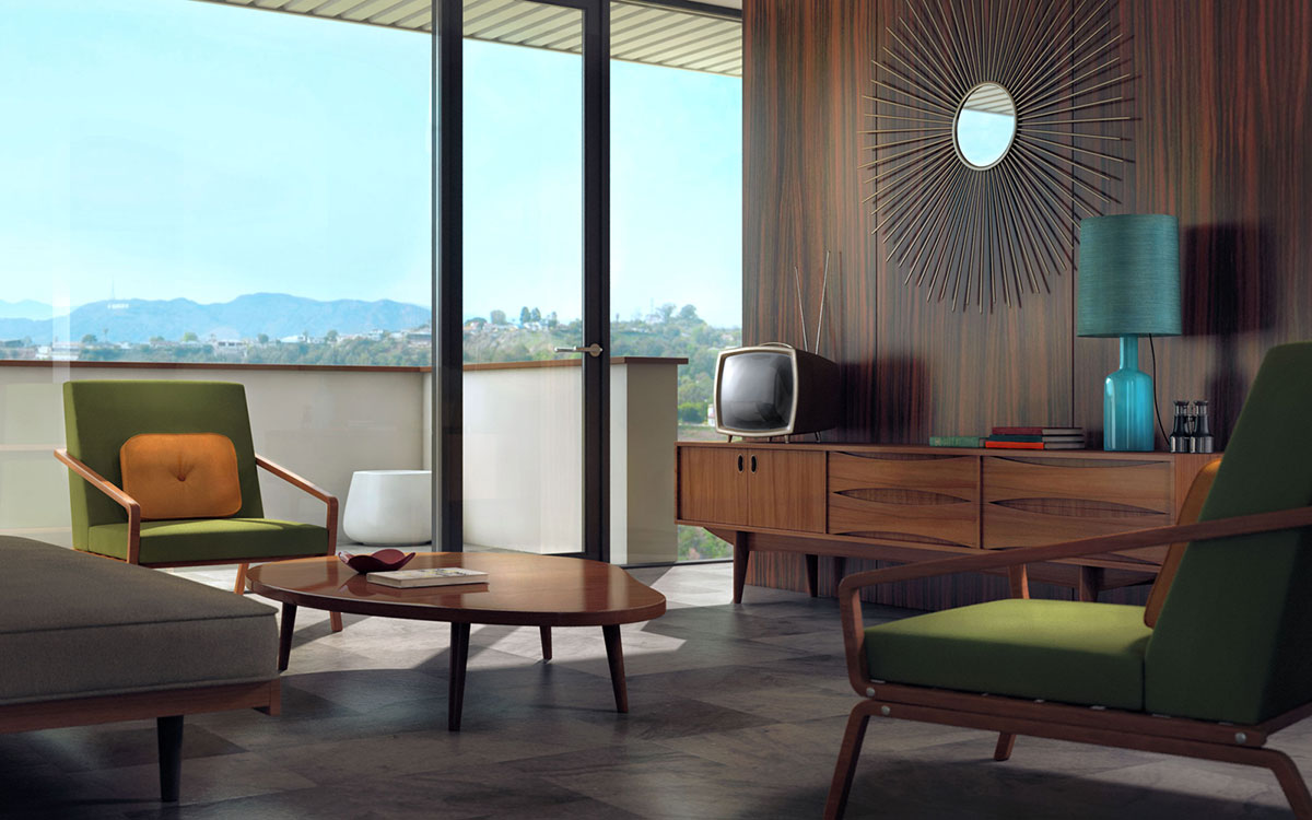Interior Designs Through The Ages Part 1 The 60's J Douglas