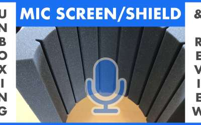 Mic screen/shield unboxing and review