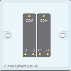 Two Gang Light Switch Wiring Diagram 3 Phase Variac 2 Way Uk Schematic Three Switches