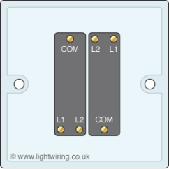 Intermediate Switch Wiring Diagram Uk Of Car 2 Gang | Light