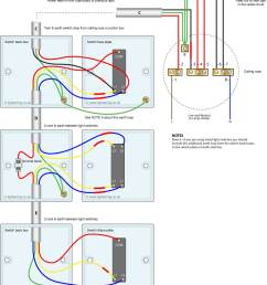 three way light switching circuit diagram old cable colours  [ 1000 x 1152 Pixel ]