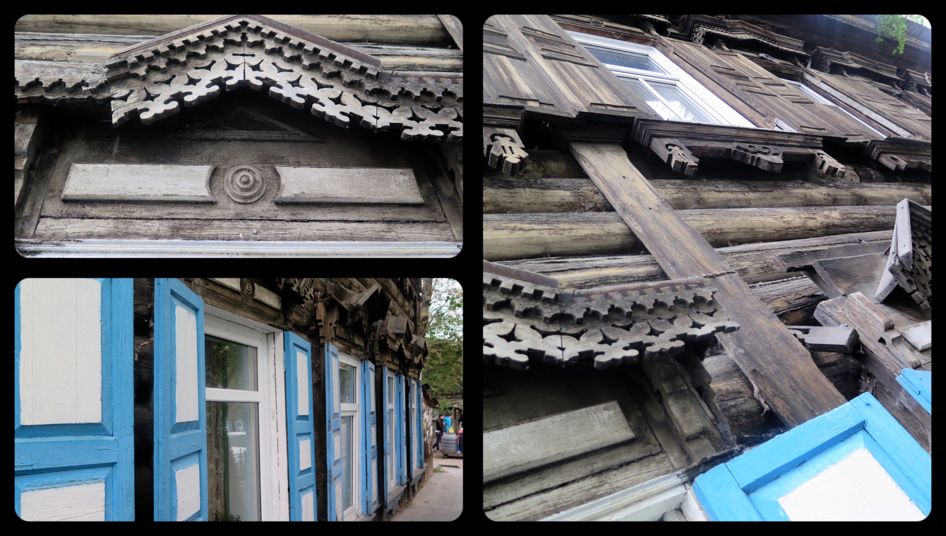 I loved the intricite woodwork and shutters we saw throughout the city.