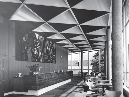 Promenoir 1966 - Théâtre Novarina, Thonon-les-Bains, France © WIMM architectes