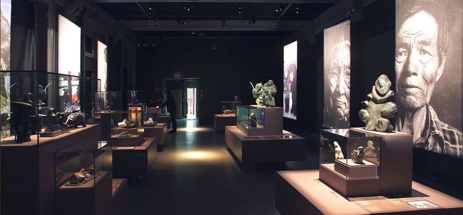 Eclairage muséographique pour une exposition