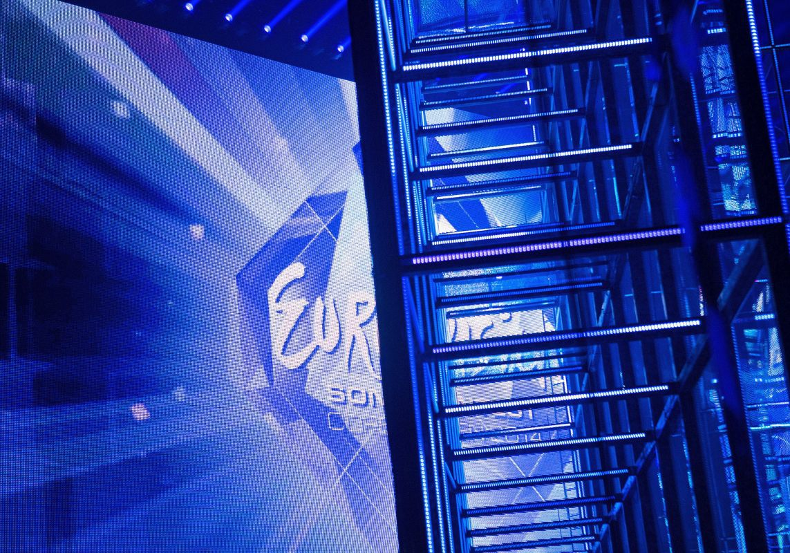 Presenting: Stage of the 2014 Eurovision Song Contest - Copyright Agnete Schlichtkrull/DR