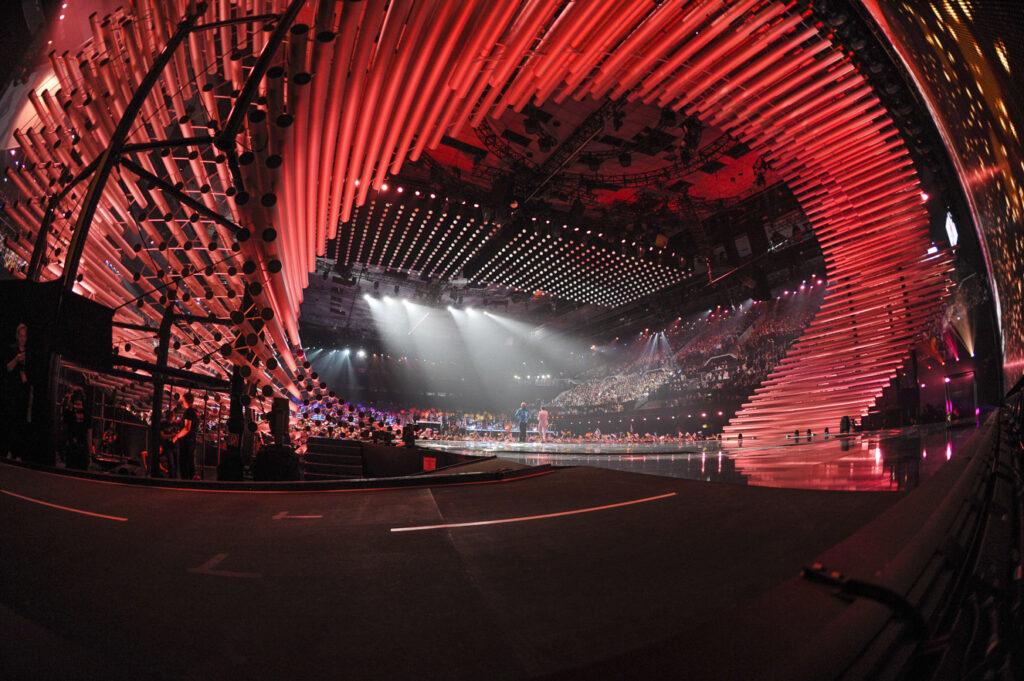 Eurovision 2015 du fond de la scène © Andres Putting (EBU)