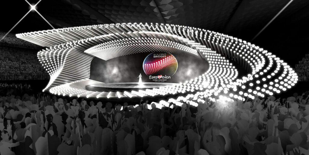 Eurovision 2015 première esquisse de la scène © ORF