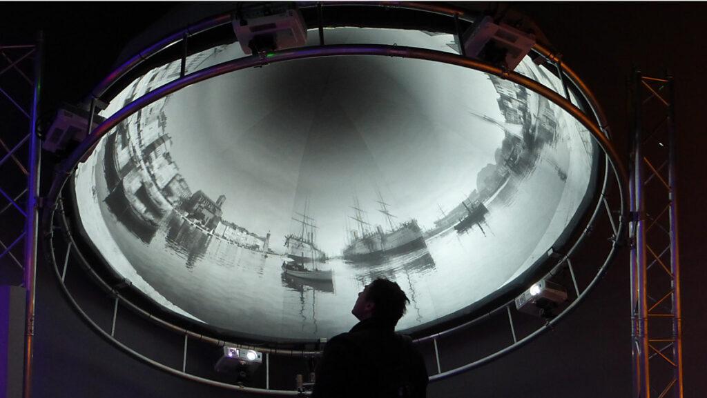 Lumière ! Le cinéma inventé - Phororama Lumière - Scénographie : Agence NC - Photo : Vincent Laganier