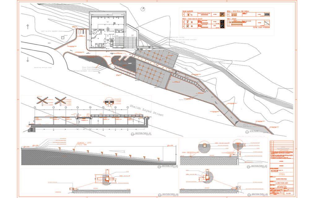 Pavillon Al Zorah, Ajman, UAE - Architectes Annabel Karim Kassar - Conception lumiere et photo Cai Light
