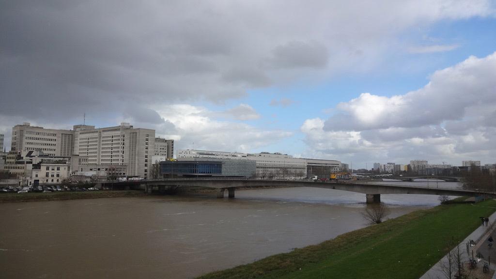 Nantes, La Loire en Hiver - Photo Laurent Lescop