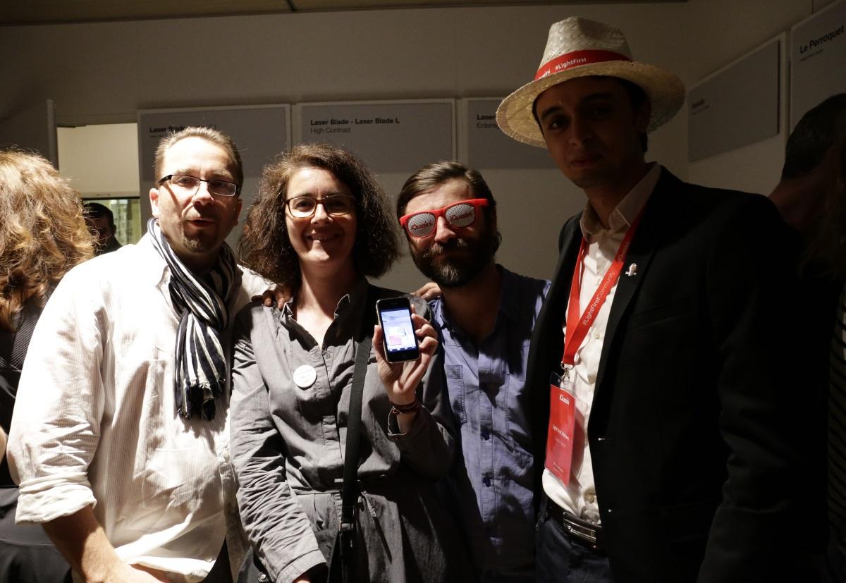 Jean-Yves Soëtinck, Sophie Caclin, Jean-Baptiste Bulot, Haitam Laadidaoui © Jean-Yves Soëtinck