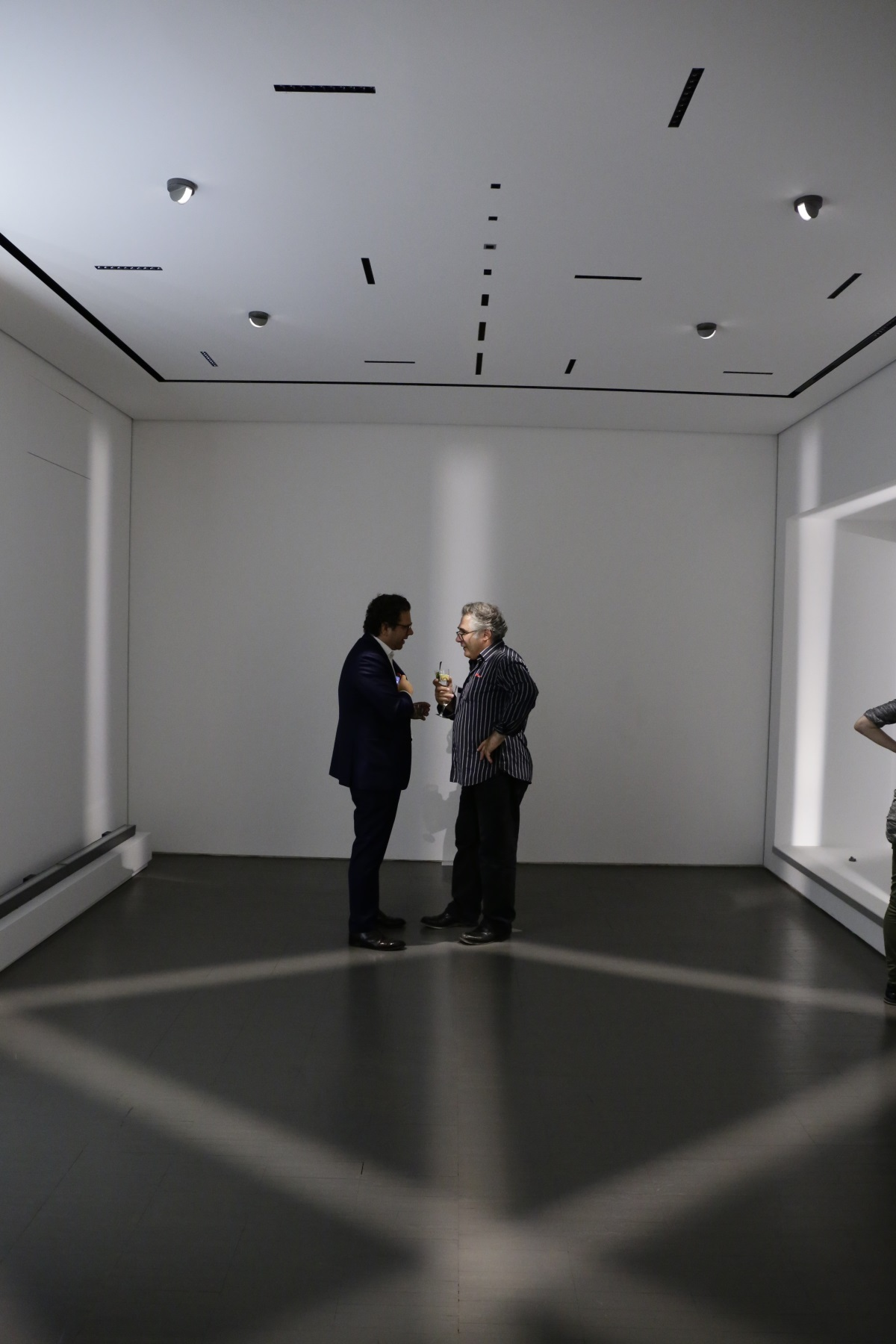 show-room iGuzzini Paris © Jean-Yves Soëtinck