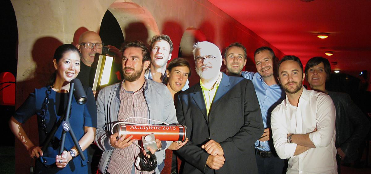 Prix de l'ACEtylène 2015, lauréats et partenaires - Photo ACE