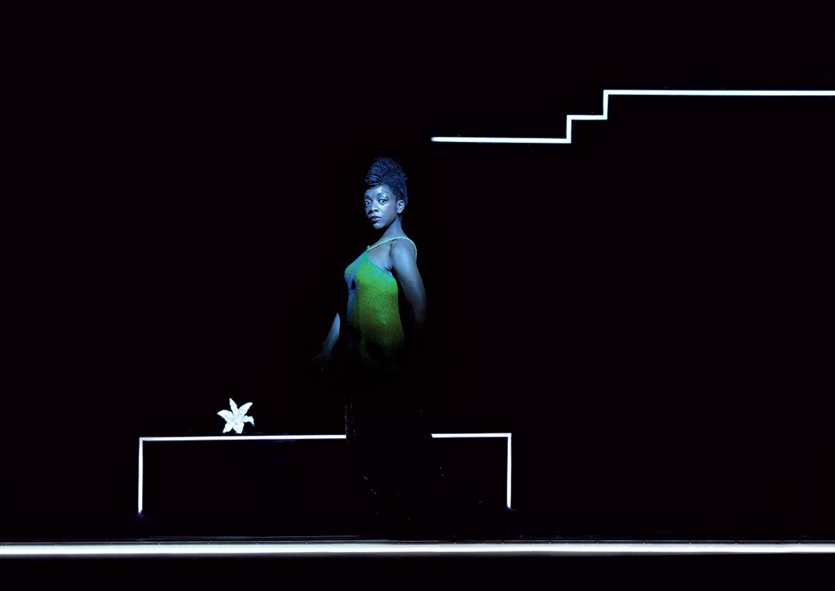 """""""Les Nègres"""" de Jean Genet - Mise en scène Bob Wilson ® Lucie Jansch"""