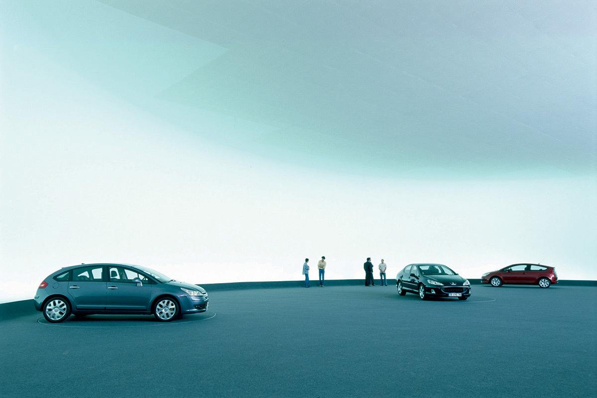 Peugeot-Citroën Centre de Design, Conception lumière Roger Narboni, Concepto © PSA
