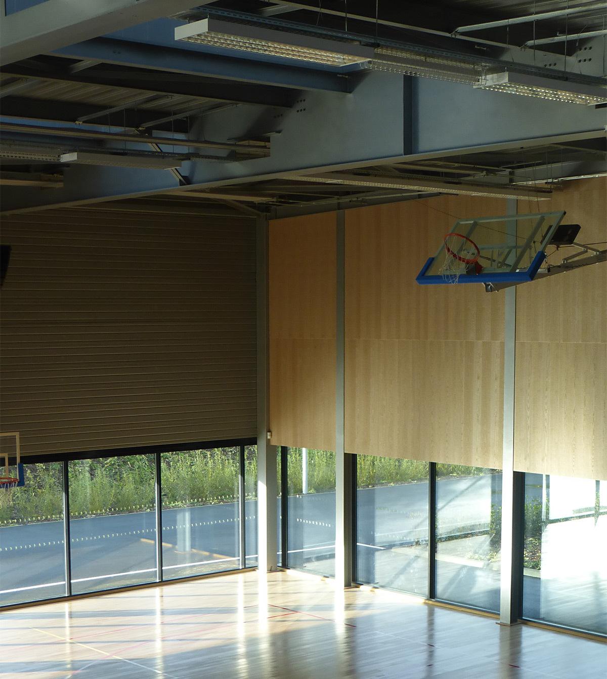 Terrain annexe d'entrainement - Salle sportive métropolitaine de Nantes Métropole, Rezé, France - Architectes Chaix & Morel et Associés - Photo Vincent Laganier