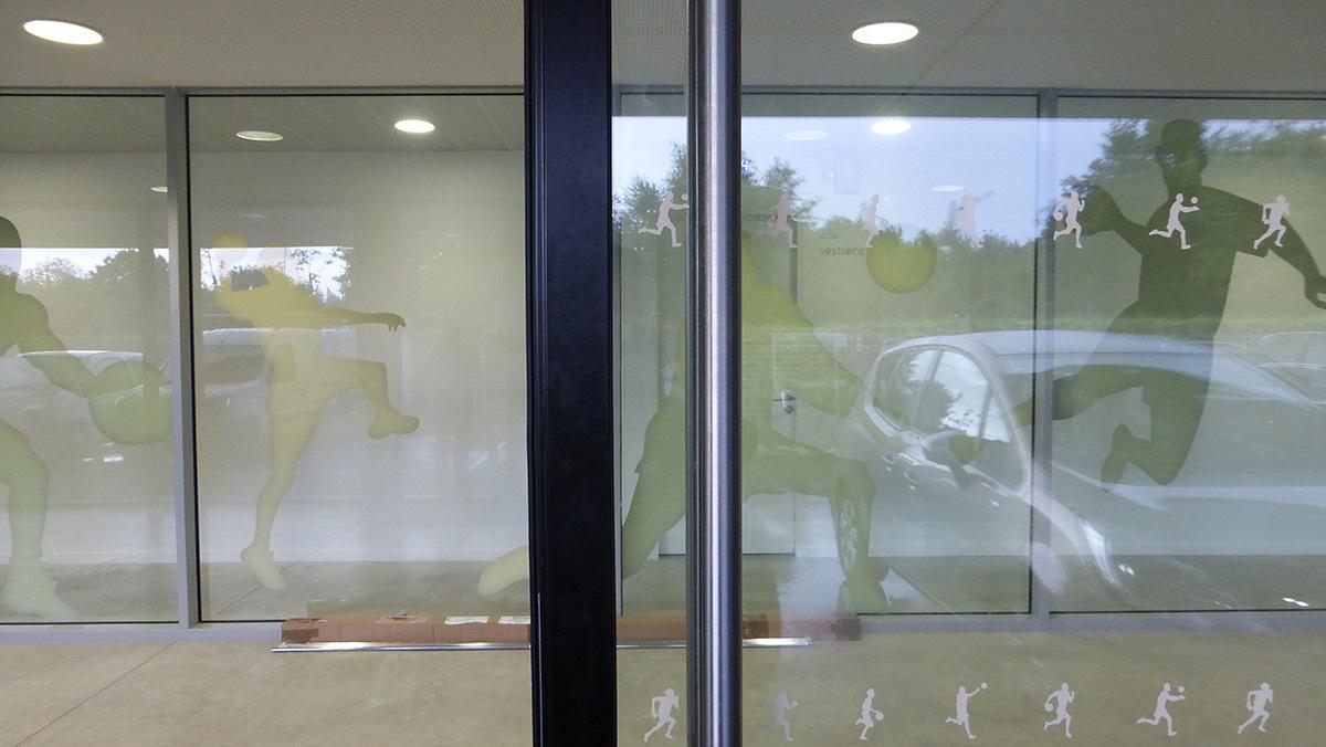 Hall d'entrée sportif - Salle sportive métropolitaine de Nantes Métropole, Rezé, France - Architectes Chaix & Morel et Associés - Photo Vincent Laganier