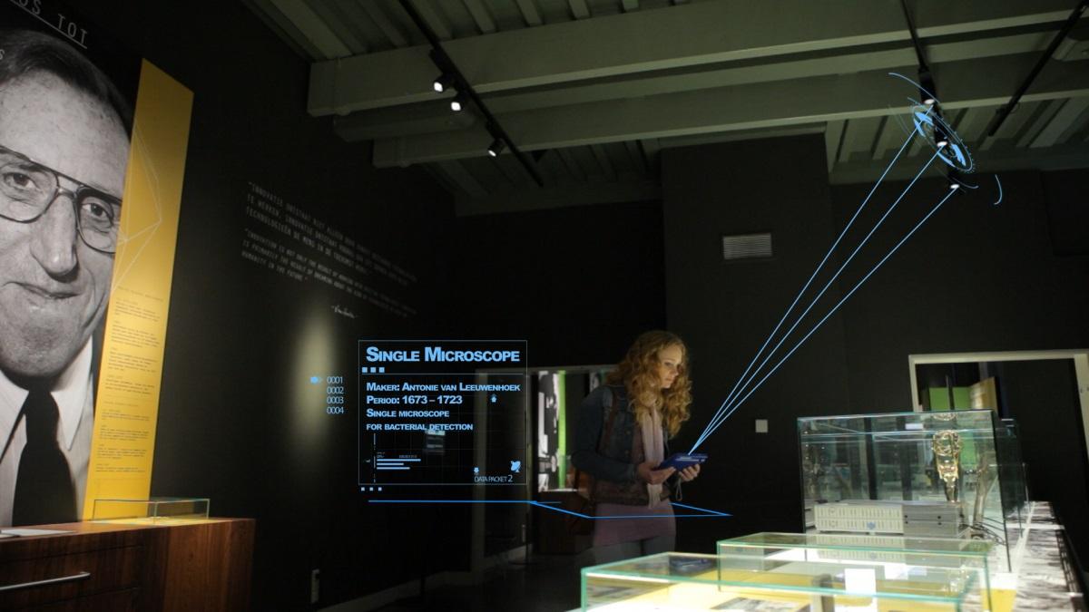 Eclairage connecté dans un musée