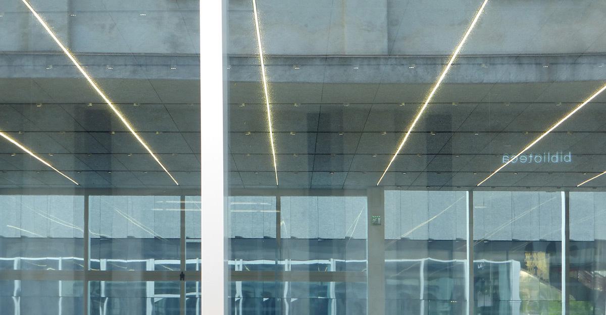 Conception lumière en éclairage intérieur dans un musée