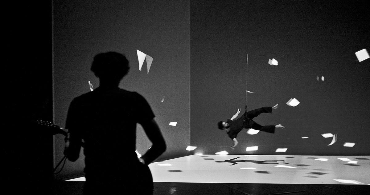 Le mouvement de l'air - Musicien et danseur © AMCB - Photo : Romain Etienne