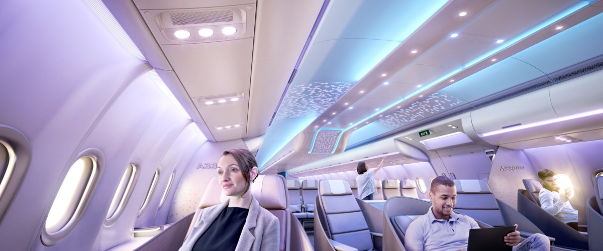 Airbus - Airspace by Airbus dans l'A330neo - Business class © Airbus