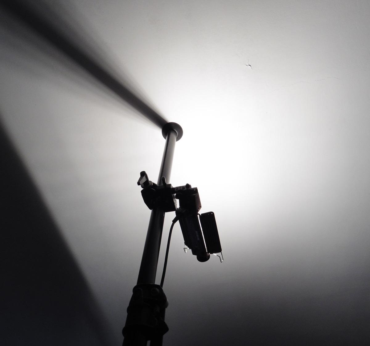 Effet de la lampe halogène Tota-light de Lowel - Image : Sophie Caclin