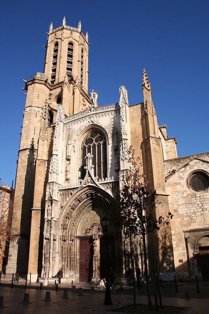 Cathédrale Saint-Sauveur, Aix-en-Provence – Photo : Georges Seguin - Wikipédia