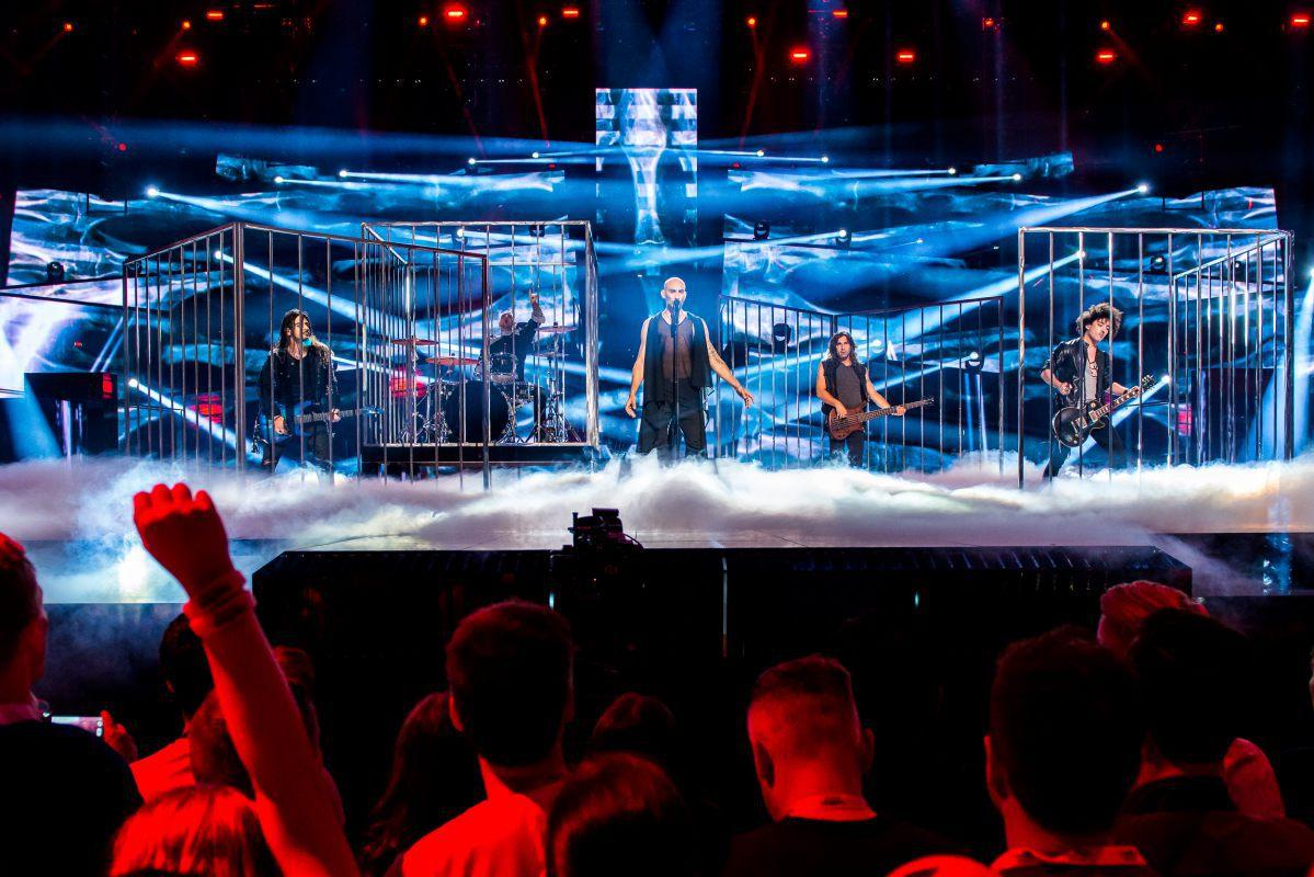 Chypre, Minus One, Eurovision 2016, Stockholm Globe Arenas, Suède © Anna Velikova (EBU)