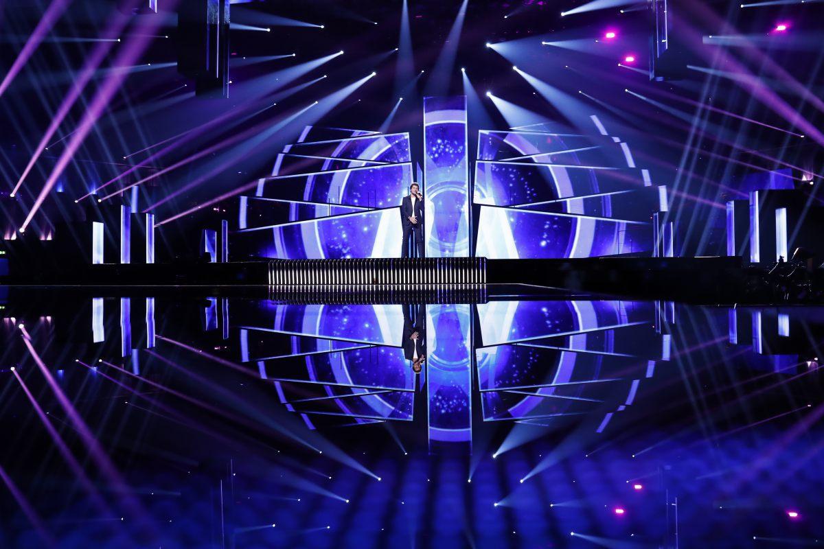 Eurovision 2016 - France - première répétition sur la scène à Stockholm © Andres Putting