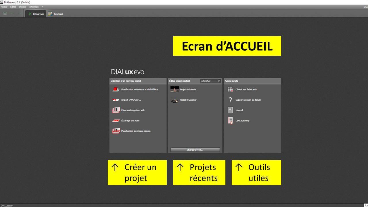DIALux-evo-6-menu-1-accueil-en-francais-Vincent-Laganier-Light-ZOOM-Lumiere