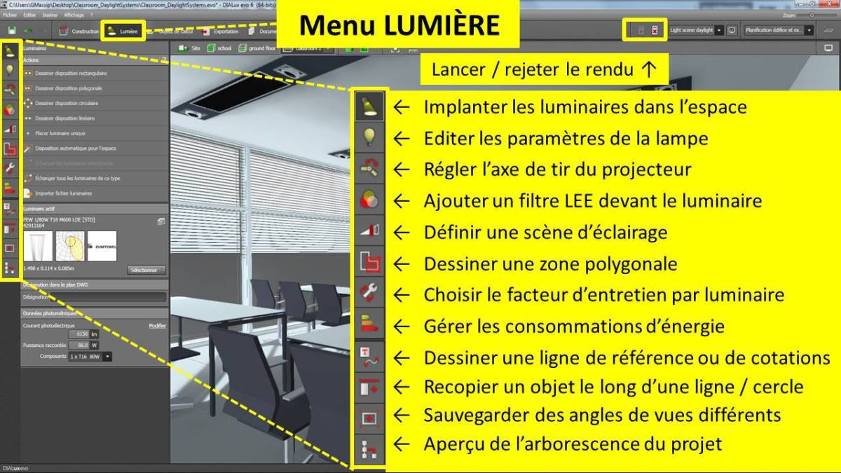 DIALux-evo-6-menu-3-lumiere-en-francais-Vincent-Laganier-Light-ZOOM-Lumiere