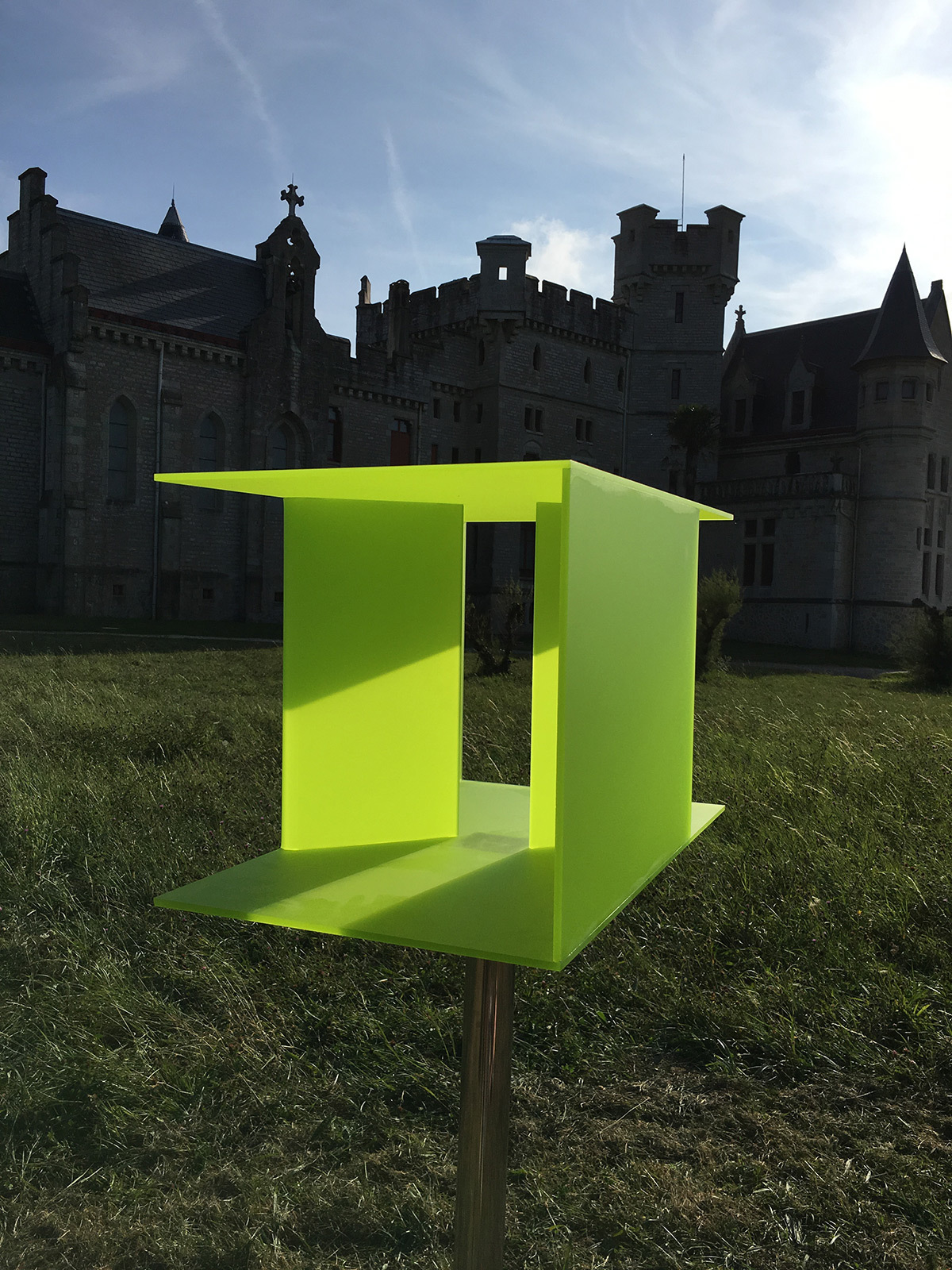 Re-Garder, de Juan Aizpitarte - Château-Observatoire Abbadia, Hendaye, France - Perceptions 3, explorations sensibles 2016 - Photo : Juan Aizpitarte