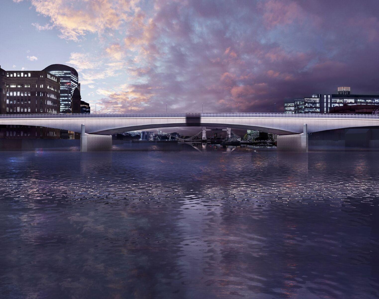 Heure magique presque au crépuscule - London Bridge, London, UK © MRC and Diller Scofidio + Renfro