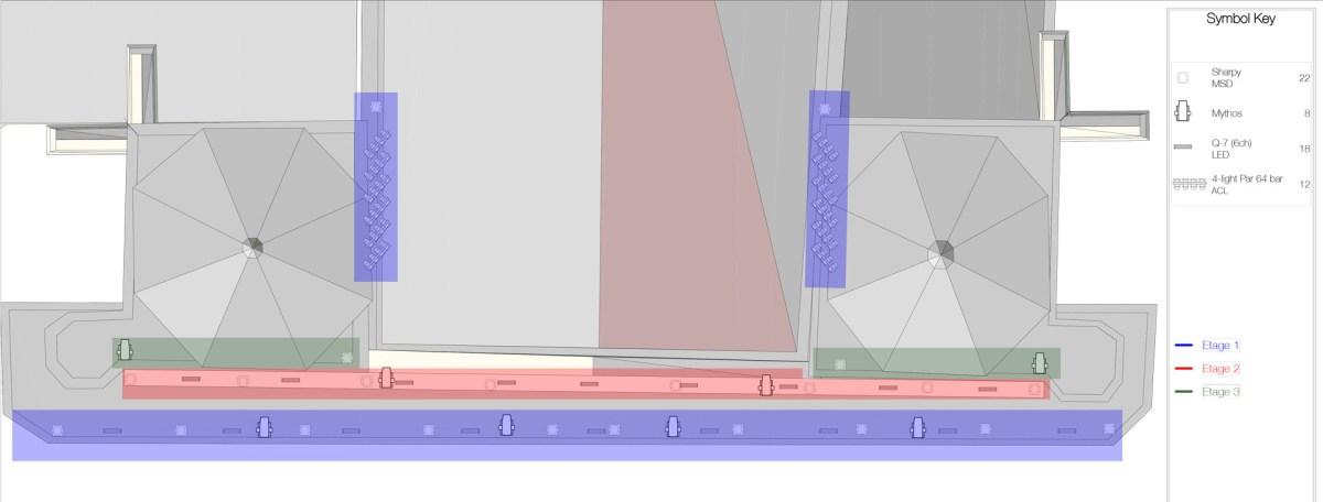 Évolutions, cathédrale Saint-Jean, Lyon, France - Plan lumière : Arnaud Doucet et RED System