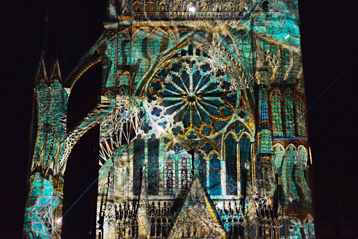 Lux Animae, Constellations de Metz 2017 - Création : Yann Nguema, EZ3kiel