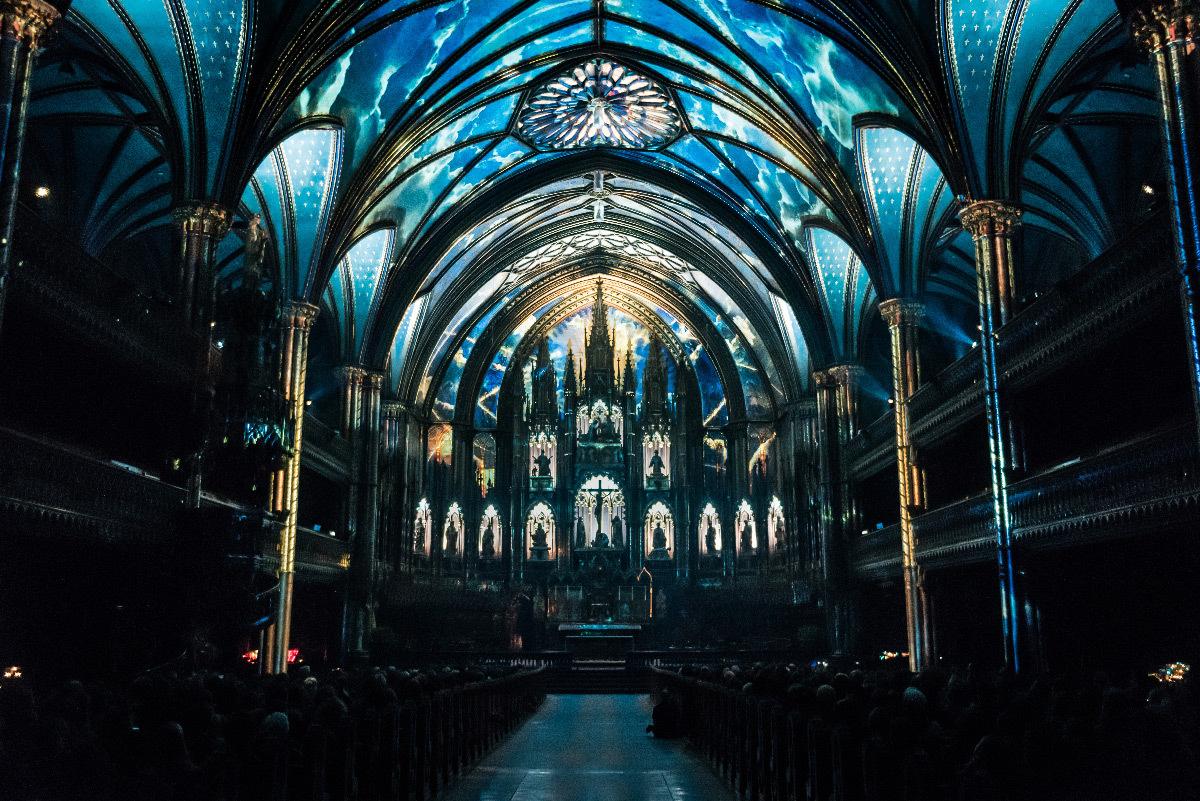 AURA, Basilique Notre-Dame de Montréal, Québec