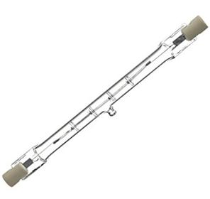 Lampe halogene lineaire R7s Light ZOOM Lumière