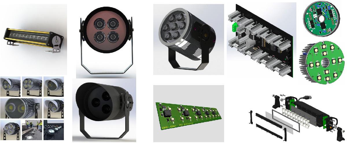 Systèmes d'éclairage LED conçus et développés par Concept Light